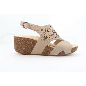 Abeo Unify Sandals Wedges Taupe Size 8.5 (EPB)4375